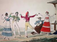 Fandango dancers by Pierre Chasselat (1753-1814)
