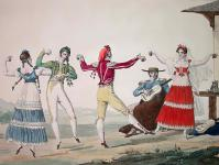 Le Fandango af Pierre Chasselat (1753-1814)